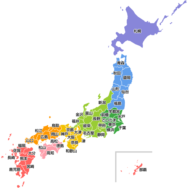 map-japan-prefecturalcapital