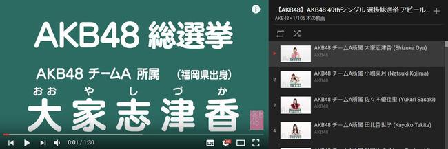 真の人気メンバー80位ランキングキタ━(゚∀゚)━!!!【AKB48/Team8/SKE48/NMB48/HKT48/NGT48/STU48/BNK48】