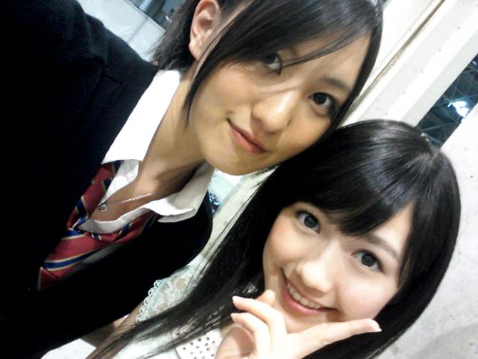 荻野利沙 G+ 2012-09-02