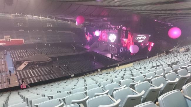 【速報】「こじまつり前夜祭」の会場の画像キタ━━━━(゚∀゚)━━━━!!【AKB48こじはる】