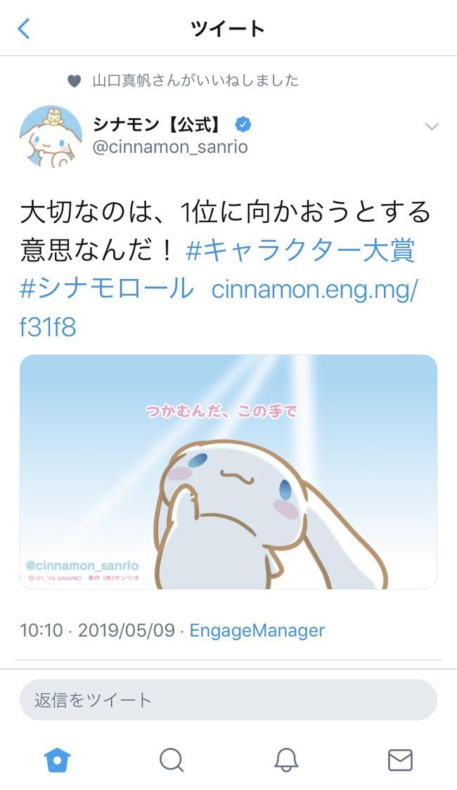 山口真帆 シナモン