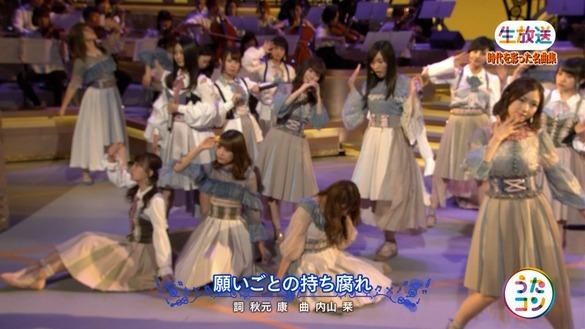 NHKうたコン「AKB48が「願いごとの持ち腐れ」を披露!」の感想まとめ(キャプチャ画像あり)