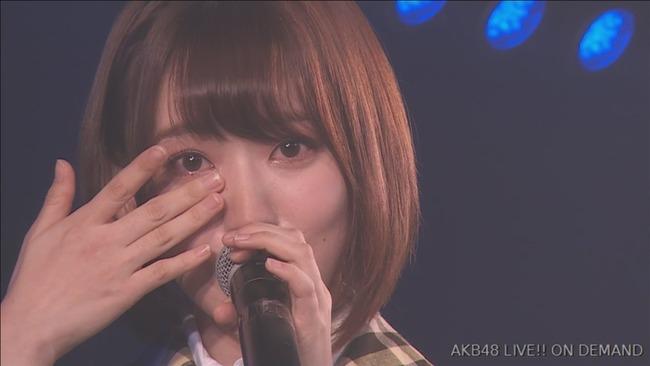 【HKT48】宮脇咲良の生唄が・・・上手く歌えなくて泣く!!!【AKB48さくらたん】