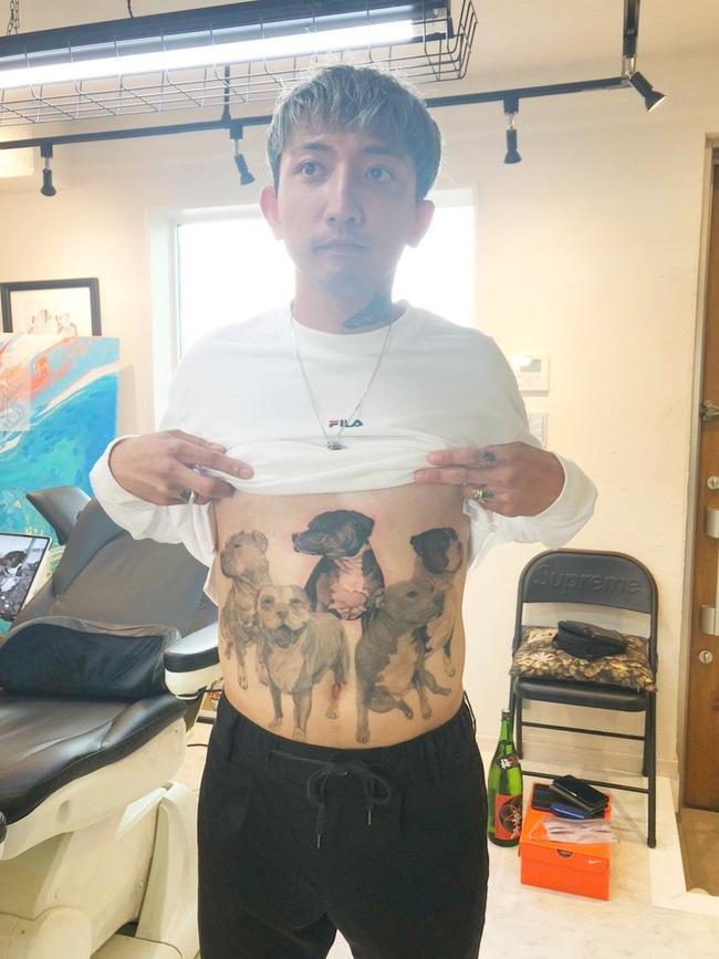 【衝撃】ゴマキ弟・後藤祐樹35歳の最新タトゥーをご覧ください!!!【モーニング娘。後藤真希】