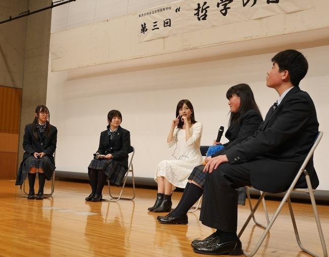 【元NMB48】須藤凜々花さんが中高生に哲学の講演!!!【りりぽん】