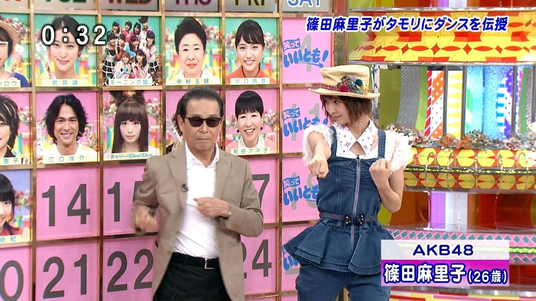 篠田麻里子は、タモリに自身がセンターを務めたシングル「上 ...