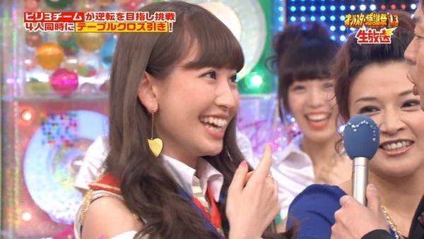 【画像】小嶋さん今田にキスされそうになって顔真っ赤www