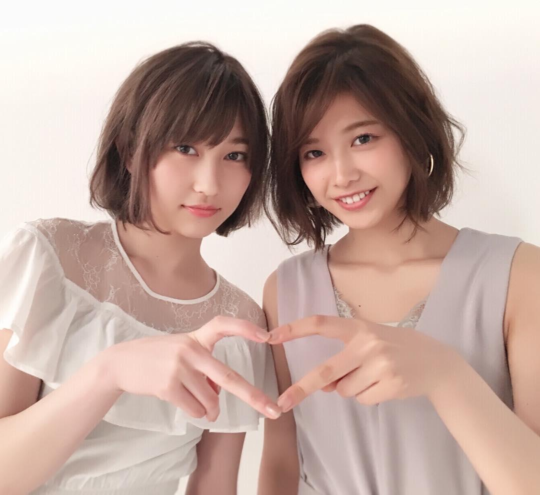 【欅坂46】nonno志田&理佐のオフショットが可愛すぎる!っていうかタグがwwwww