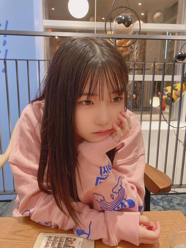 SKE48倉島杏実、最後の乳歯が抜ける