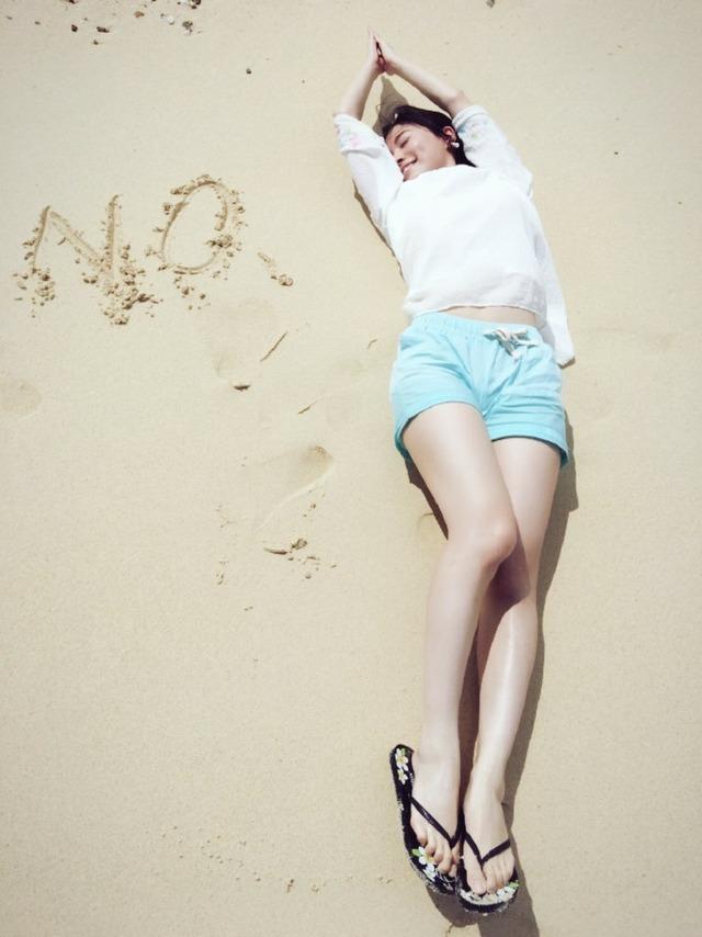 SKE48松井珠理奈が来年の目標を全身で表現してみたら美脚すぎた