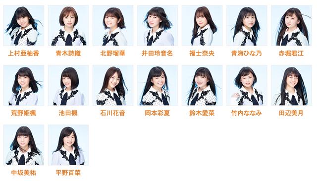 6月26日のSKE48青春ガールズ公演 白井友紀乃が休演、中坂美祐が出演に変更