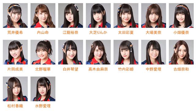 11月19日のSKE48チームKⅡ公演出演メンバーが発表!