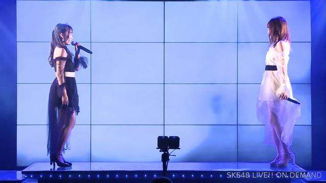 SKE48片岡成美、卒業公演の眼差しサヨナラで『ありがとう』