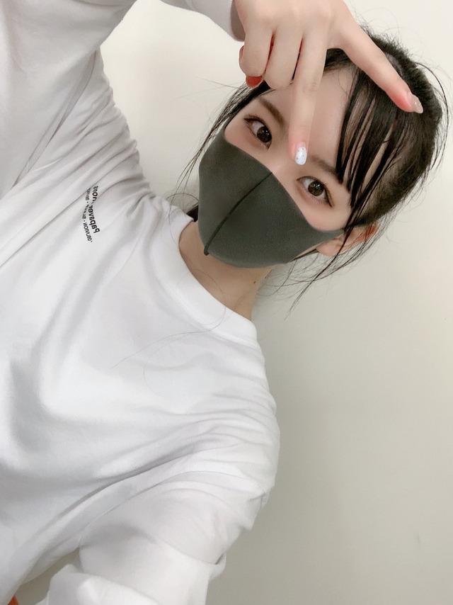 SKE48末永桜花「私の本日着用していたマスク…キシリア様みたいですね…」
