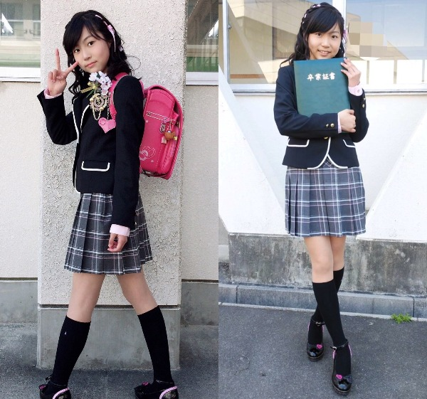SKE48平野百菜が小学校を卒業「6年間楽しかったです!」