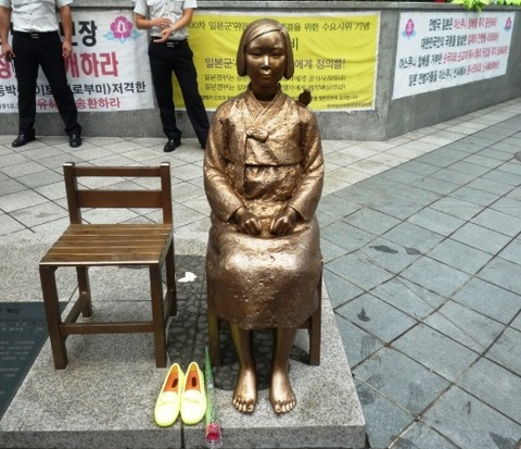 韓国-慰安婦像-海外の反応