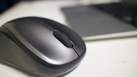 ワイヤレスマウスとPC