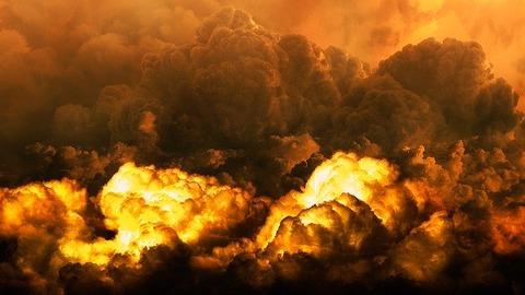 【衝撃】大爆発のレバノン、ゲーム画面みたいな光景になる……(画像あり)