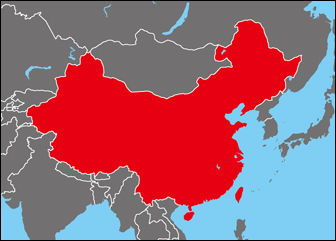 The_location_of_China