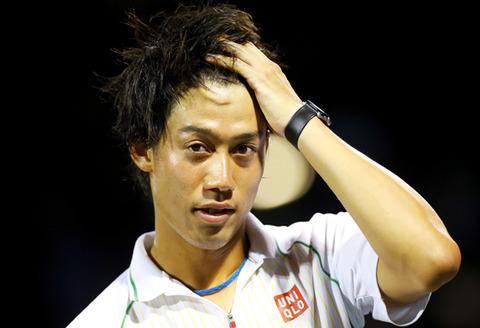 【エンタメ画像】【速報】錦織圭、全仏オープンテニス2015の3回戦でリタイアされた結果www(試合放送日程・トーナメント表画像・ブーメランスネイクGIF動画あり)