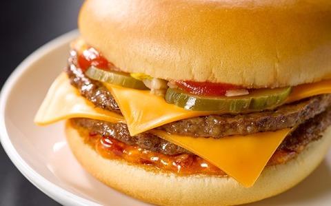 マクドナルド裏ダブルチーズバーガーの実物wwwwww(画像あり)