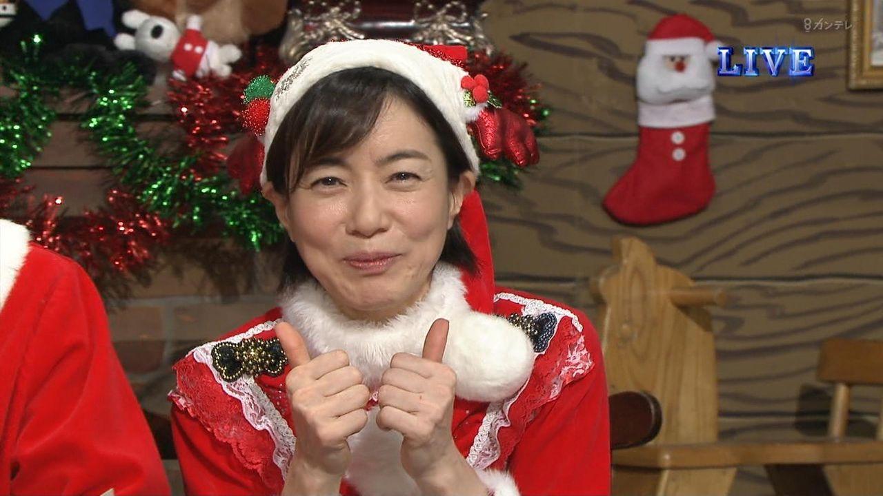 【悲報】八木亜希子、劣化した現在の姿が悲惨www(若い頃・結婚式画像あり)さんまの番組でのサンタ姿に2ch「旦那の子供未出産でこれか」「女は年とったらおしまいだな」