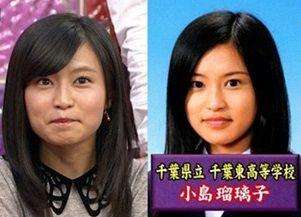 小島瑠璃子卒業写真