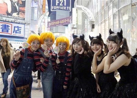 【ハロウィン仮装】渋谷の美女のコスプレ、現地がやばいぞwww(画像あり)2ch「今から行くわ」
