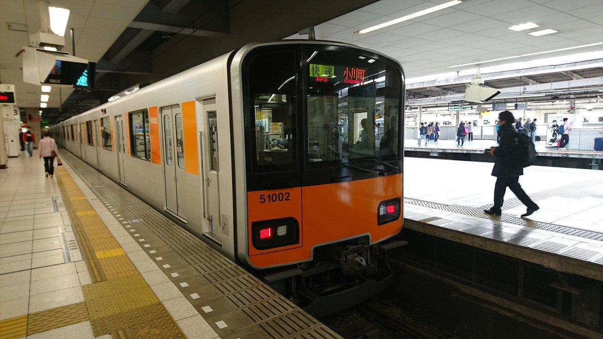 【人身事故】 東武東上線 東武練馬駅で ...