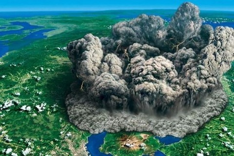 caldera-eruption