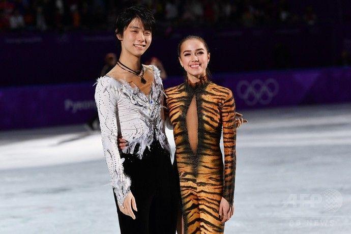 羽生選手とザギトワ選手