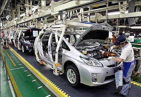 トヨタ工場①