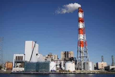 JR東日本川崎火力発電所