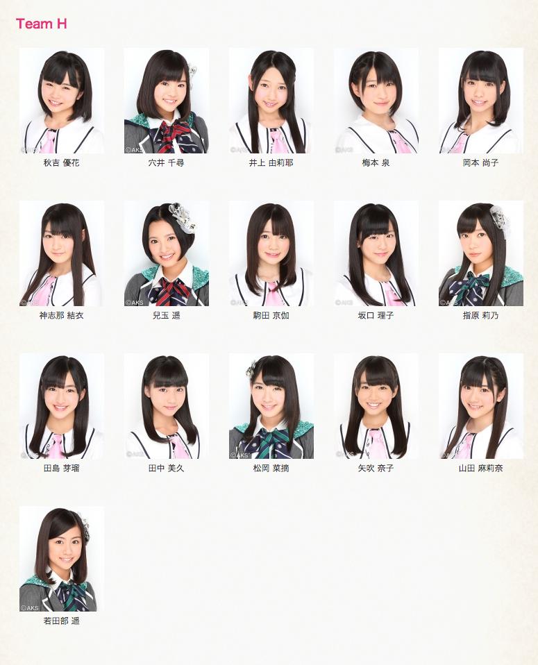【速報】AKB48グループ大組閣祭り結果:移籍・兼任情報の2chまとめ、人事異動後のチーム・メンバー・キャプテン一覧【AKB48・SKE48・NMB48・HKT48】