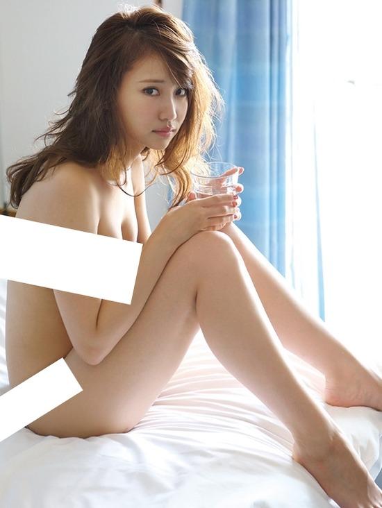 河西莉子さんの水着