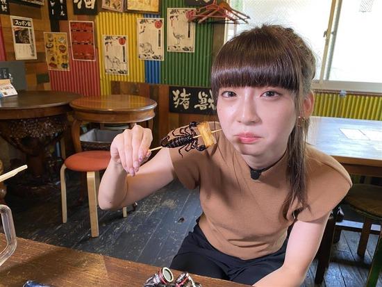 【悲報】荻野由佳のゲテモノ食い画像wwwwwwwwwwwwwwwwwww