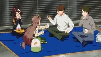 【ウマ娘】アニメモブ男二人はキタサトとカラオケ行ったの?