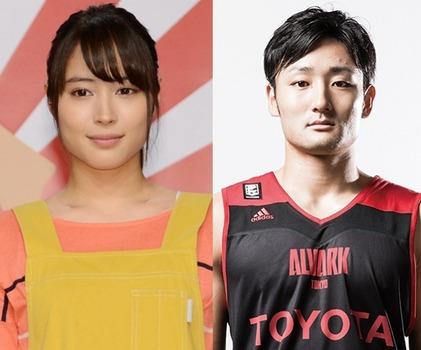 【週刊文春】広瀬アリスがバスケ田中大貴と熱愛画像