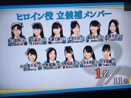 【速報】チーム8合宿 ヒロイン役(センター)に立候補したメンバーが判明!