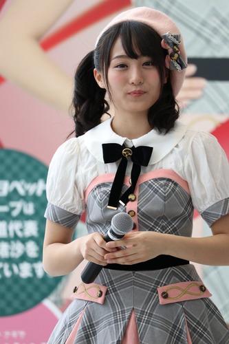 坂口渚沙さんのポートレート
