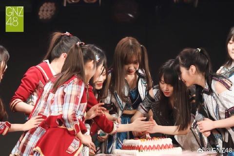 GNZ48冼燊楠weibo171210