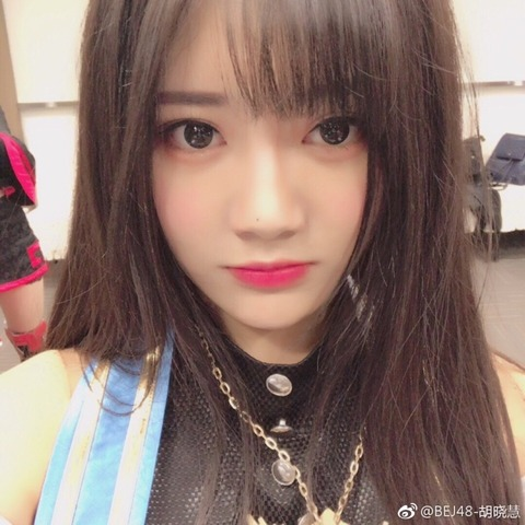 Bej48胡曉慧weibo171126b
