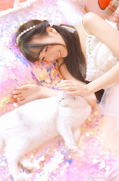 SNH48於佳怡weibo171029