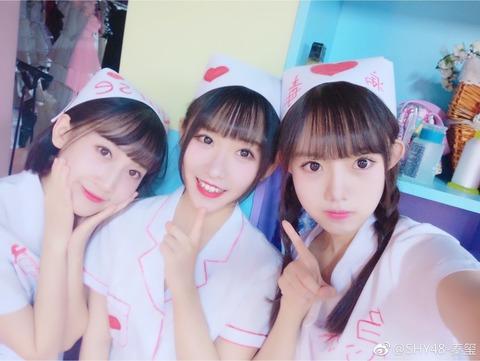 SHY48秦璽weibo171216