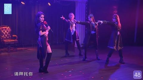 SNH487周年公演劉倩倩