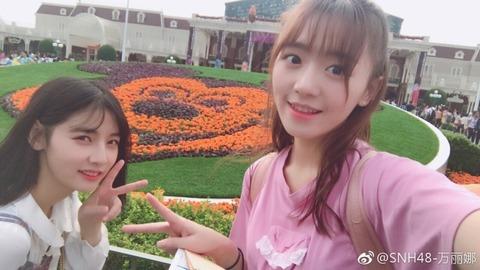 SNH48萬麗娜171011weibo