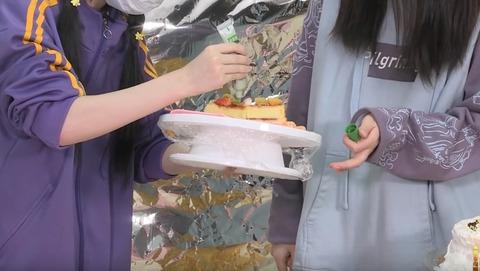 アイドルわさびケーキ