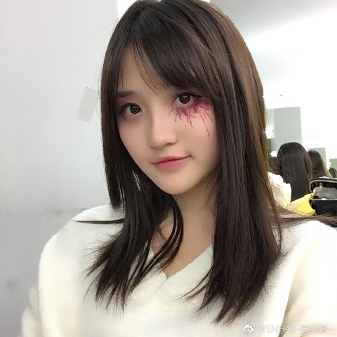 SNH48費沁源weibo171031