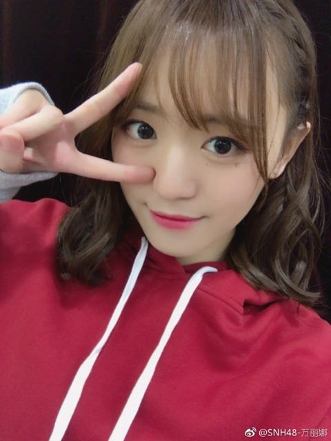 SNH48萬麗娜weibo171125b
