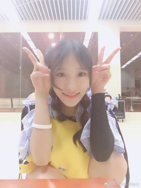GNZ48羅寒月weibo171015